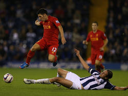 Dani Pacheco (l.) verlässt den FC Liverpool