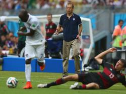 USA-Trainer Jürgen Klinsmann ist begeistert von der bisherigen Leistung seines Teams