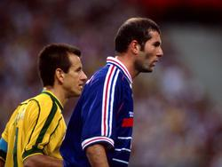 World Cup Final 1998: Dunga, Zidane