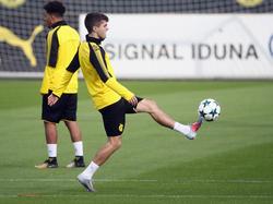 Christian Pulisic hat beim Spiel in Mönchengladbach einen Schlag auf den Knöchel bekommen