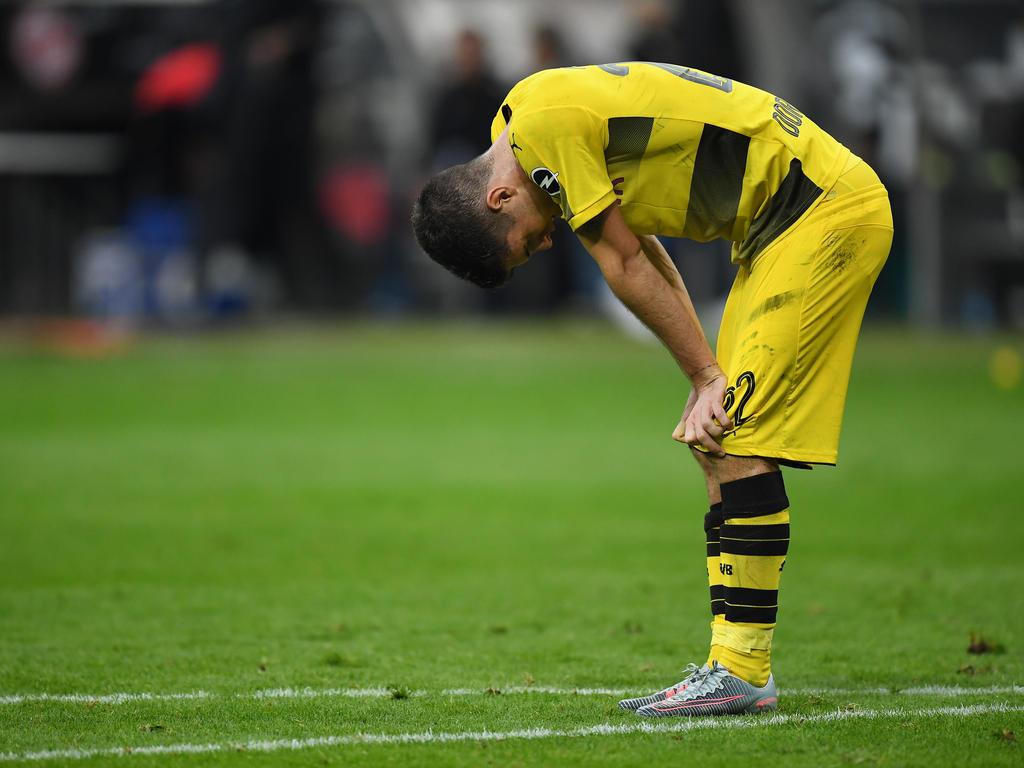 Hatte zuletzt wenig zu lachen: BVB-Youngster Christian Pulisic