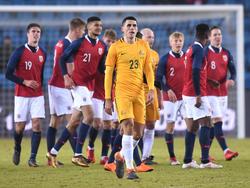 Australien handelte sich gegen Norwegen eine klare Niederlage ein