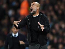 Pep Guardiola gewann letzte Saison mit Manchester City die Premier League