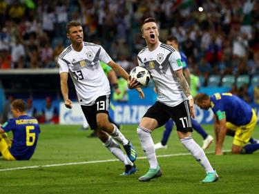 Marco Reus erzielte das wichtige Tor zum Ausgleich gegen Schweden