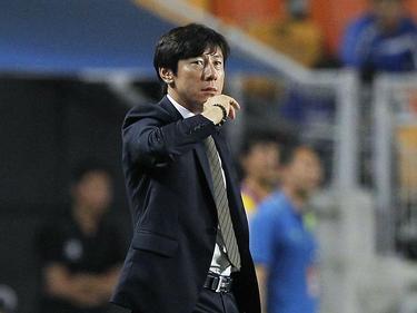 Tae-Yong Shin, entrenador del combinado asiático. (Foto: Getty)