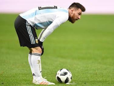 Messi podría perderse el duelo ante España en Madrid. (Foto: Getty)