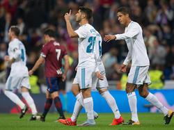 Asensio traf für Real Madrid zum zwischenzeitlichen 2:0
