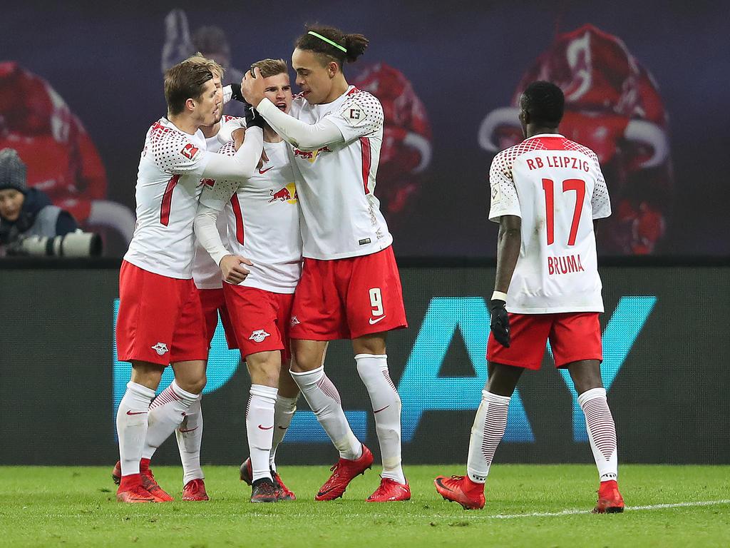 Die Leipziger setzten sich mit 3:1 gegen den FC Schalke durch