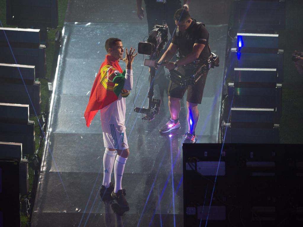 Cristiano Ronaldo zog wieder einmal die Aufmerksamkeit auf sich