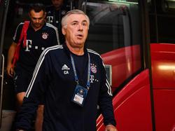 Voller Fokus auf Mainz: Bayern-Coach Carlo Ancelotti fordert drei Punkte