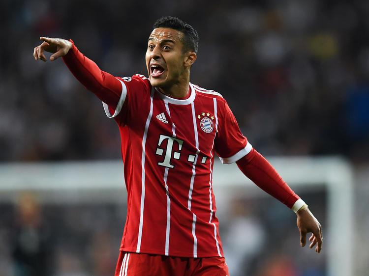Thiago vom FC Bayern München könnte nach Spanien zurückkehren
