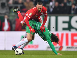 Bayern München gewann zum 13. Mal in Folge gegen den SVW