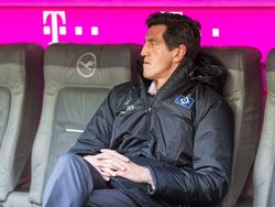 Jens Todt erlebte mit dem HSV in München ein Debakel