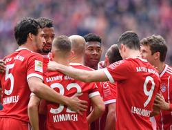 Der FC Bayern München kann noch vor Ostern deutscher Meister werden