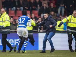 Fans der Go Ahead Eagles attackierten De-Graafschap-Profis