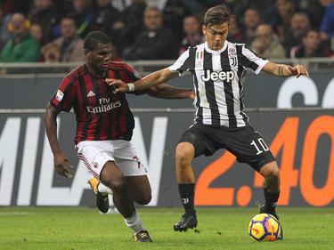 Franck Kessié prophezeit ein Tor gegen Paulo Dybala und Co. © Getty Images/Marco Luzzani