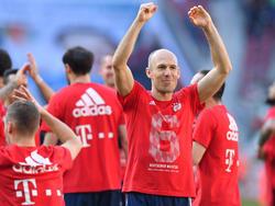 Arjen Robben hat mehr Meistertitel geholt als Johan Cruyff
