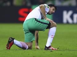Pizarro könnte Bremen in den nächsten Spielen fehlen
