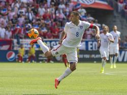 Die Ballbehandlung von US-Kapitän Clint Dempsey lässt auf seine Vorbilder schließen