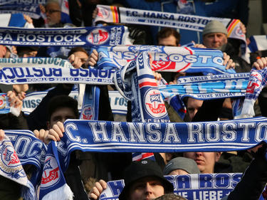 Die Fans des FC Hansa Rostock sorgten für Ärger