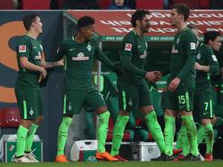 Werder ist im Abstiegskampf aus dem Gröbsten raus
