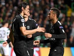 Zwischen Cavani (li.) und Neymar (re.) soll es zu einem Disput gekommen sein