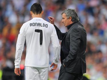 José Mourinho (r.) und Cristiano Ronaldo feierten 2012 in Madrid die Meisterschaft