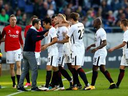 Eintracht Frankfurt hat Hannovers Heimserie beendet