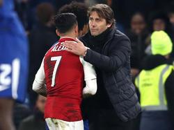 Antonio Conte hat Kontakte zu Alexis Sánchez bestritten