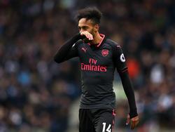 Der Treffer von Pierre-Emerick Aubameyang konnte die Niederlage nicht verhindern