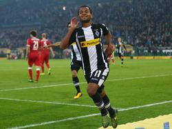 Raffael erzielte beide Tore gegen den VfB Stuttgart