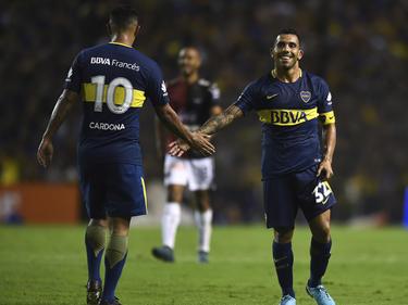 Tévez y Boca sonrien desde la punta de la Superliga argentina. (Foto: Getty)