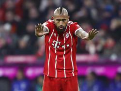 Weist alle Wechsel-Spekulationen von sich: Bayern-Star Arturo Vidal