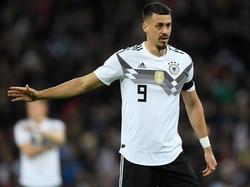 Sandro Wagner will zu seiner ersten WM
