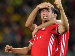 Thomas Müller schoss das 2:0 im Supercup gegen den BVB