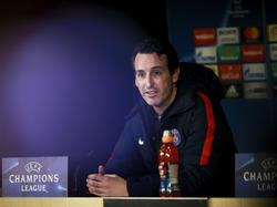 Emery en una rueda de prensa del pasado mes. (Foto: Getty)