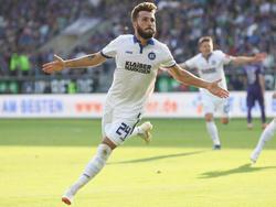 Fabian Schleusener schließt sich dem SV Sandhausen an