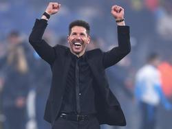 Simeone ganó su segundo título de la Europa League con el Atlético. (Foto: Getty)