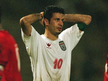 Ali Daei war in der Bundesliga für Arminia Bielefeld, Bayern München und Hertha BSC im Einsatz