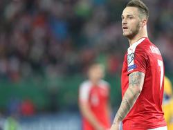 Der gesperrte Marko Arnautović hinterlässt am linken Flügel eine riesige Lücke