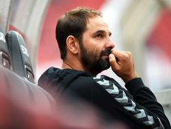 Stefan Ruthenbeck wurde am Sonntag zum Cheftrainer des 1. FC Köln befördert