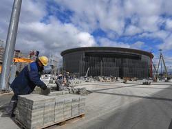 Das Zentral-Stadion in Ekaterinburg
