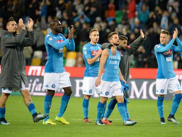El Nápoles se queda con 39 puntos a uno del Inter. (Foto: Getty)
