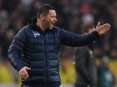 Pál Dárdai freut sich auf das Spiel gegen Dortmund