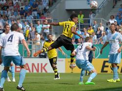 Chemnitz spielte vor zwei Jahren im Pokal schon gegen den BVB