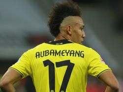 Aubameyang, calciatore del Borussia Dortmund