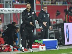 Stefan Leitl betreut auch weiterhin den FC Ingolstadt