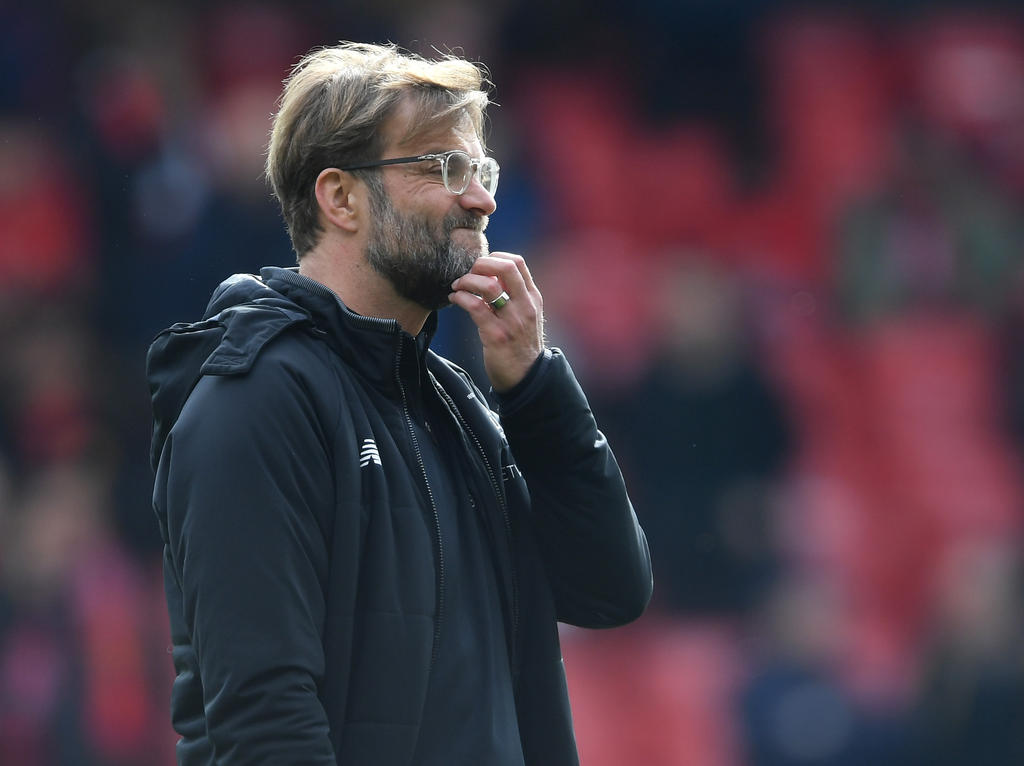 Jürgen Klopp haderte mit der Schiedsrichter- und Abwehrleistung