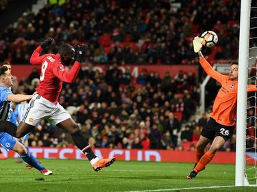 Romelu Lukaku traf zum 1:0 für die Red Devils