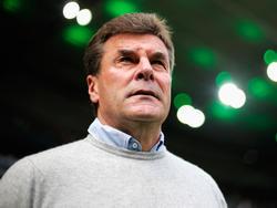 Will gegen die Fortuna aus Düsseldorf die favoritenrolle annehmen: Gladbachs Dieter Hecking